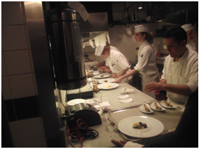 Martin Evans 2009 Pastry Kitchen at Le Bernadin