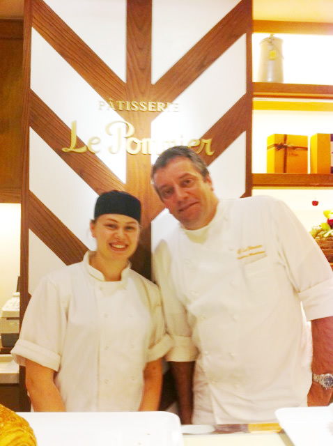 Sarah Frankland 2010 and Chef Federic