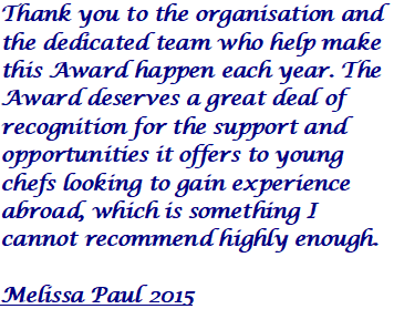 Melissa Paul 2015 Quote