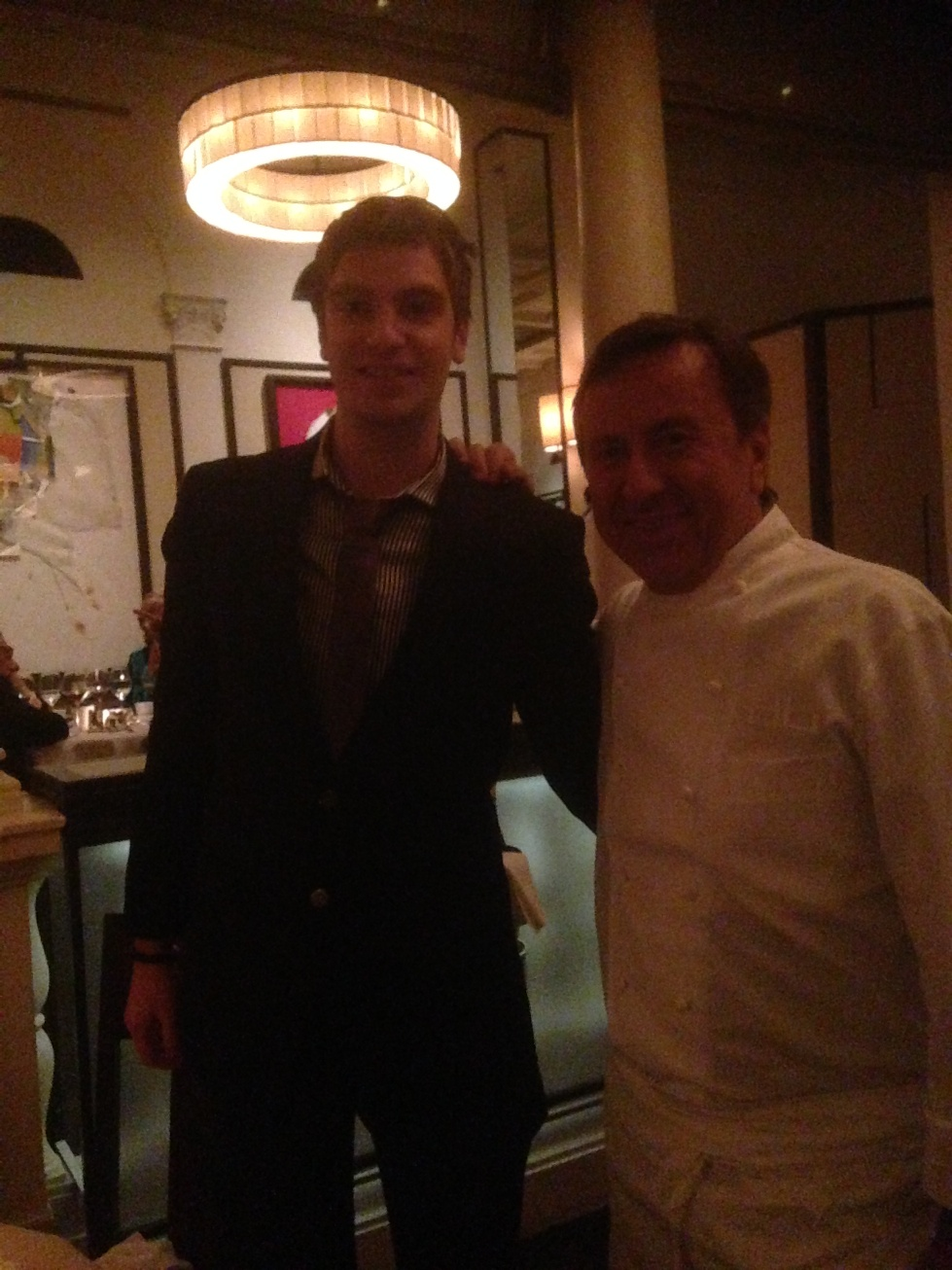 James Goodyear 2013 with Daniel Boulud