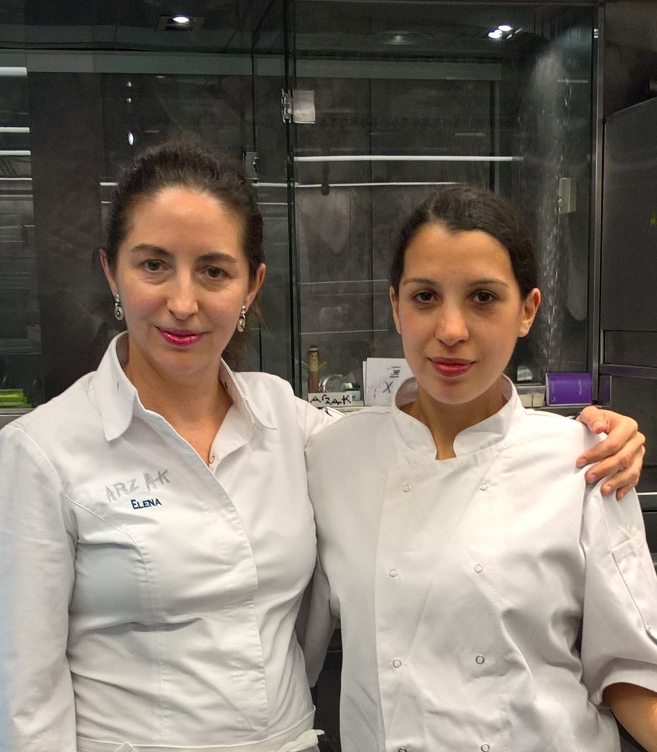 Melissa Paul 2015 with Elena Arzak